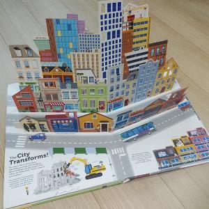 英語絵本レビュー★可愛いおすすめ仕掛け絵本「The Ultimate Book of Cities」