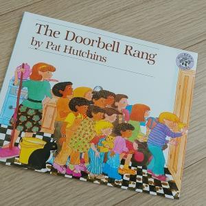 おすすめ英語絵本レビュー★さんすうも勉強できちゃうおいしい絵本「The Doorbell Rang」