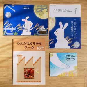 【飛び級Z会】Z会幼児コース年少向け10月号のレビュー&効果