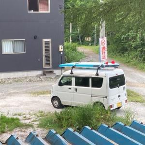 松川SUP(貯ってる場所)