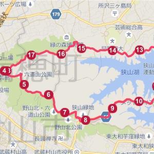 【練習日誌】ロング走 22km