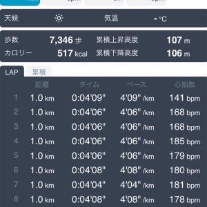 【練習日誌】Mペース 10km