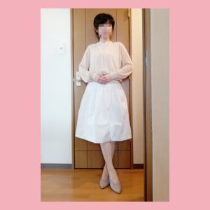 ☆大活躍したDAISO品☆GUでZoom 面談コーデ☆今日のコーデ(2020年6月30日)