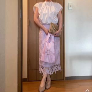 ☆下取り買い替えスカートとTOCCAのマイバッグコーデ☆手作り石けんのコンフェ作り☆