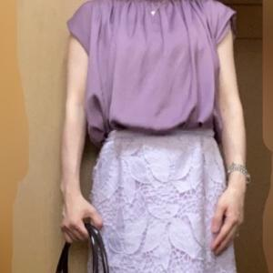 ☆美人百花9月号、Ray7.8月号掲載Noelaタイトスカートで、ちょい秋コーデ