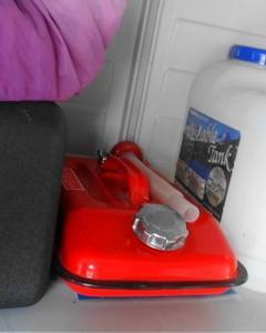 父が使っていたガソリン携行缶には・・・