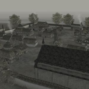 過去の話せる島の村