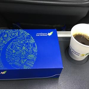ラオス旅行 ハノイ〜ルアンパバーンまで ラオス国営航空の意外な機内食、美味しかった。