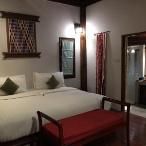 ラオス ルアンパバーンのホテル 「メゾンダラブア」は最高です。