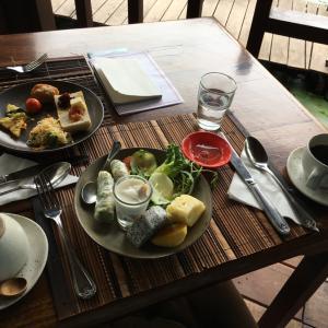 ラオス ルアンパバーン メゾンダラブアの2回目の朝食