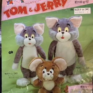 エルエル手芸 トムとジェリー トム 制作中 2