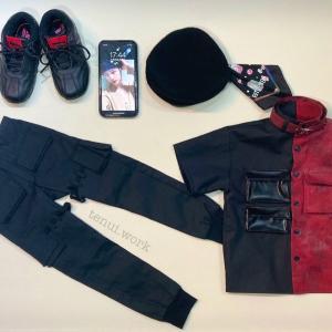 ☆14  【Stray Kids miniature costumes】God's Menuのシャツとベレー帽 (終)