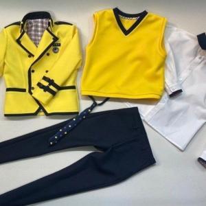 ☆20【Stray Kids miniature costumes】SOPA uniform ジャケット