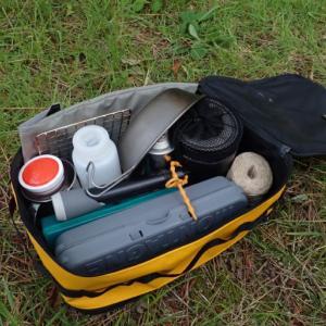 【キャンプのキッチン道具あれやこれや】ソロキャンプの野外炊事はこれでOK