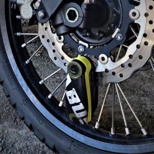 【バイクの防犯対策】アラーム付きディスクロック ABUS Detecto 7000RS1