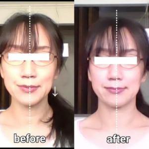 左右非対称な顔のたるみはここをチェック!顔に触れずに整える方法とは。