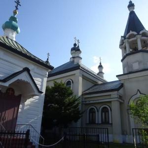 ハリストス教会、オーペンドアチャペルへの道ー超偶然の発見