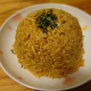 話題の「カップヌードル炒飯」を蒙古タンメンで作ってみたが・・・