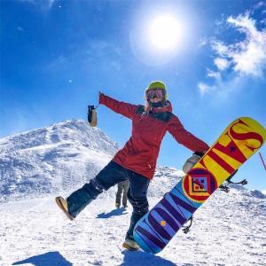 山籠もり生活で毎日スノーボード【北海道、ニセコエリア】