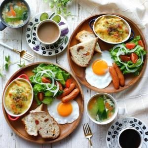 朝食と一人昼食はとにかく時間を使わず用意