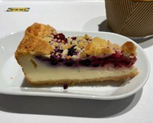 IKEA(イケア)の「ベリーベリーチーズケーキ」 食べました