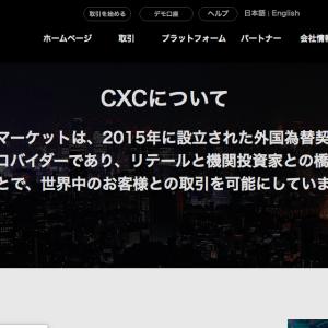 (海外FXボーナス情報)cxcマーケット編
