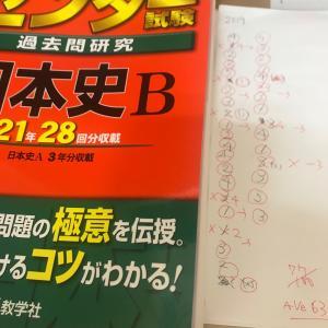 1.5ヶ月勉強した日本史の実力はどのくらいか?