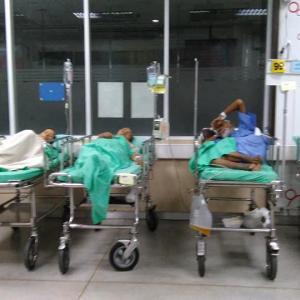 タイ カオサン  シリラート病院の事 アジア最大のマンモス病院