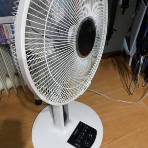 暑くなって来たので、とうとう扇風機を出した    一昨日、警察官が自宅に来た