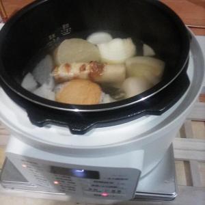 電気鍋を購入した アイリスオーヤマ電気圧力鍋 PC-MA2 送料込7000円新古品