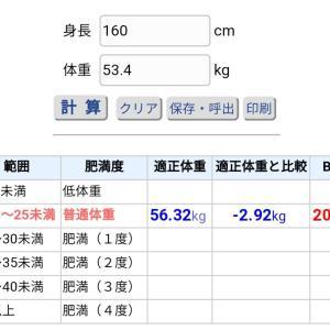 目標体重!!