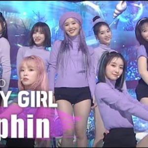 OH MY GIRL 「Dolphin 」が中毒♡ 오또케송(オットケソング)