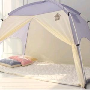 家の中でもテント!?な韓国の冬
