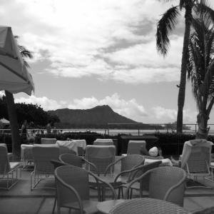 モノクロ写真のように見えたハワイ