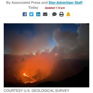 【NEWS】ハワイ島 キラウエア火山が噴火