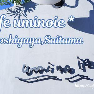 cafe uminoie / 埼玉県越谷市 ◇ 海無し埼玉県のウミノイエ