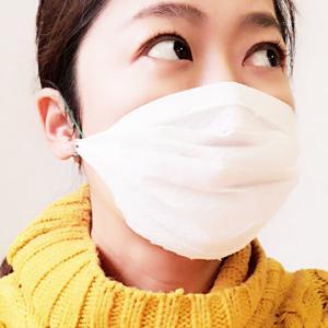 警視庁考案のキッチンペーパーで作る簡易マスクをつくってみたよ