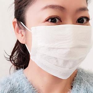 不織布マスクを再利用。キッチンペーパーマスクの作り方