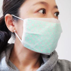 水切りゴミ袋で作るシースルータックマスク
