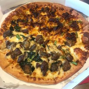 日曜日のピザ