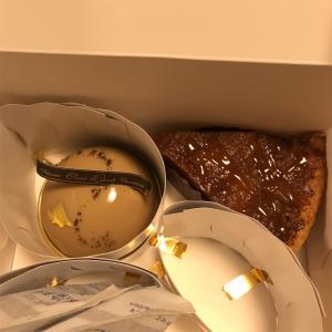 シャンドワゾーのお持ち帰りケーキ
