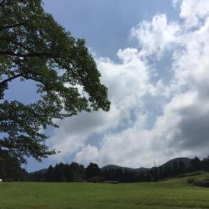 梅雨明けと高原キャンプ