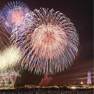 今日の全国シークレット花火が見れたらいいですね!
