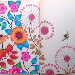 コロリアージュ、チュートリアルのススメ / Joanna Bastard ひみつの花園(Davlina Art氏YouTube)