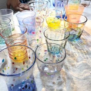 【レポ】吹きガラス体験 2回目