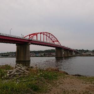 リベンジ!那珂川河口でシーバス釣り