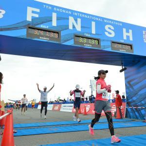 岩本能史流で再挑戦した湘南国際マラソンでサブ3.5達成!