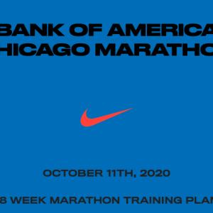 10月のシカゴマラソンに向けたナイキのトレーニングプラン