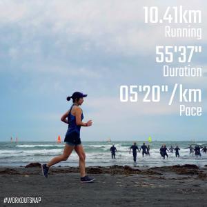 "10.41km(5'21"") ラントリップラン【2021/5/22】"