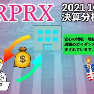 ロイヤルティファーマ(RPRX)2021 1Qの決算 37%の増収・増益